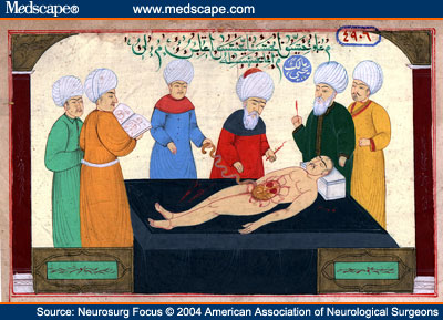 medical scene attributed to Sabuncuoglu